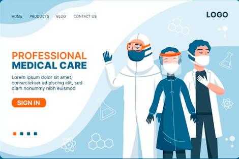Doctor website design Health care packages