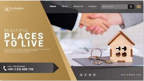 Real estate broker agent webdesign packages
